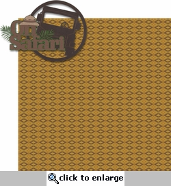 Animal Kingdom: On Safari 2 Piece Laser Die Cut Kit