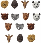 Animal World Buttons