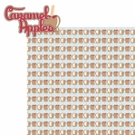 Apple A Day: Caramel Apples 2 Piece Laser Die Cut Kit