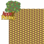 Apple Picking: Apple Picking 2 Piece Laser Die Cut Kit