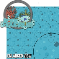 Aquarium: At The Aquarium 2 Piece Laser Die Cut Kit