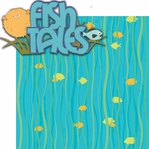 Aquarium: Fish Tales 2 Piece Laser Die Cut Kit