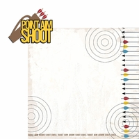 Archery: Point Aim Shoot 2 Piece Laser Die Cut Kit