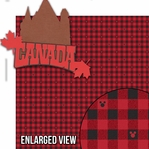Around The World: Canada 2 Piece Laser Die Cut Kit