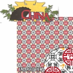 Around The World: China 2 Piece Laser Die Cut Kit