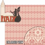 Around The World: Italy 2 Piece Laser Die Cut Kit