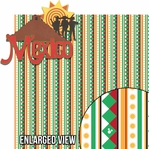 Around The World: Mexico 2 Piece Laser Die Cut Kit