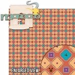 Around The World: Morocco 2 Piece Laser Die Cut Kit