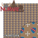 Around The World: Norway 2 Piece Laser Die Cut Kit