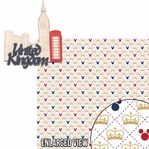 Around The World: United Kingdom 2 Piece Laser Die Cut Kit