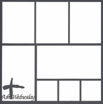 Ash Wednesday 12 x 12 Overlay Laser Die Cut