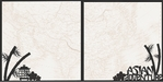 Asia: Asian Adventure Double 12 x 12 Overlay Quick Page Laser Die Cut
