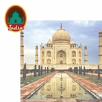 Asia: India 2 Piece Laser Die Cut Kit