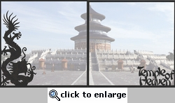 Asia: Temple Of Heaven Double 12 x 12 Overlay Quick Page Laser Die Cut