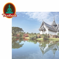 Asia: Thailand 2 Piece Laser Die Cut Kit