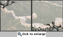 Asia: The Great Wall Double 12 x 12 Overlay Quick Page Laser Die Cut