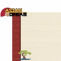Asian Dream: Asian Dream 2 Piece Laser Die Cut Kit