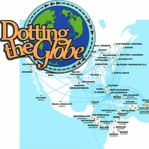 At The Airport: Dotting The Globe 2 piece Laser Die Cut Kit