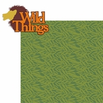 At The Zoo: Wild Things  2 Piece Laser Die Cut Kit