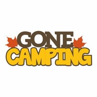 Autumn Air: Gone Camping Laser Die Cut