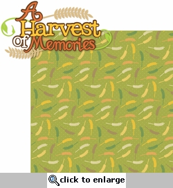 Autumn Glory: A Harvest of Memories 2 Piece Laser Die Cut Kit