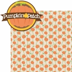 Autumn Glory: Pumpkin Patch 2 Piece Laser Die Cut Kit