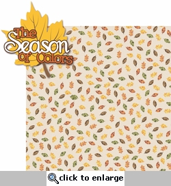 Autumn Glory: The Season of Colors 2 Piece Laser Die Cut Kit