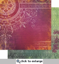 Autumn Song: Beautiful 12 x 12 Double-Sided Cardstock