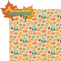 Autumn Splendor: Autumn Splendor 2 Piece Laser Die Cut Kit