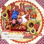 Autumn Splendor by Best Creations layout # 2-<font color=red><b>NOT FOR SALE</b></font>