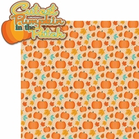 Autumn Splendor: Cutest Pumpkin 2 Piece Laser Die Cut Kit