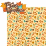 Autumn Splendor: Piles of Smiles 2 Piece Laser Die Cut Kit