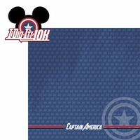 Avenger Run: Capt. America 2 Piece Laser Die Cut Kit