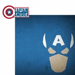 Avengers Assemble: Captain America 2 Piece Laser Die Cut Kit