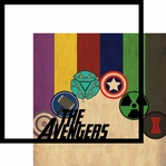 Avengers Assemble: The Avenger 12 x 12 Overlay Quick Page