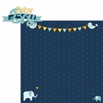 Baby Days: Baby Boy 2 Piece Laser Die Cut Kit