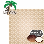 Baby Fruits: 31 Weeks Coconut 2 Piece laser Die Cut Kit