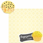 Baby Fruits: 4 Weeks Poppyseed 2 Piece laser Die Cut Kit