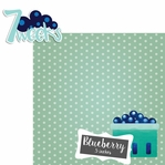 Baby Fruits: 7 Weeks Blueberry 2 Piece laser Die Cut Kit