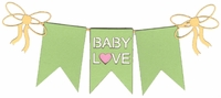 Baby Love Laser Die Cut
