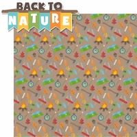 Back To Nature: Back to Nature 2 Piece Laser Die Cut Kit