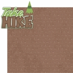 Back To Nature: Take A Hike 2 Piece Laser Die Cut Kit