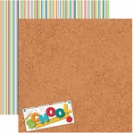 Back To School 12 x 12 Double-Sided Cardstock