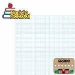 Back to School: Back to School 2 Piece Laser Die Cut Kit