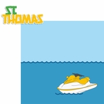 Bahamas: St. Thomas 2 Piece Laser Die Cut Kit