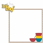 Bake Eat Love: Little Chef 2 Piece Laser Die Cut Kit