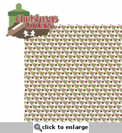 Baking Memories: Christmas Cookies 2 Piece Laser Die Cut Kit