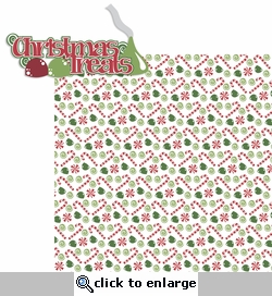 Baking Memories: Christmas Treats 2 Piece Laser Die Cut Kit
