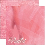 Ballet 12 x 12 Double-Sided Cardstock