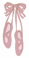 Ballet Slippers Laser Die Cut